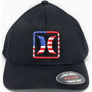 NWT $30 HURLEY USA FLEXFIT unisex hat